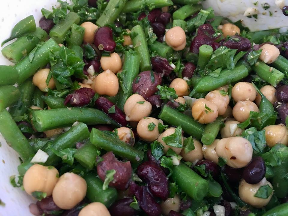 vegetarian bean salad