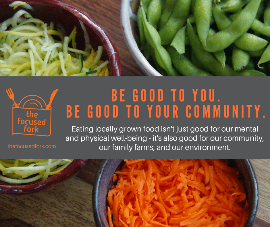 what are the benefits to eating local